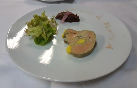 L'Auberge de la pointe, Foie gras nature / © Auberge de la Pointe