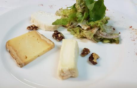 L'Auberge de la pointe, Assiette de fromages / © Auberge de la Pointe
